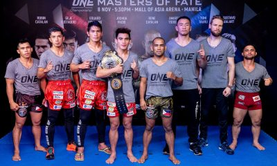 Tiebreaker Times Pacio, Catalan to clash for the Philippines Mixed Martial Arts News ONE Championship  Team Lakay Rene Catalan ONE: Masters of Fate Joshua Pacio Catalan Fighting System