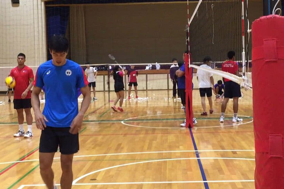 Tiebreaker Times Bryan Bagunas to make most of time with PMNTV in Japan News Volleyball  Philippine Men's National Volleyball Team Bryan Bagunas 2019 SEA Games - Volleyball 2019 SEA Games