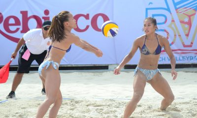 Tiebreaker Times SiPons opens International Open campaign with escape of UST Beach Volleyball BVR News  Sakiusa Naivana Pol Salvador Pemie Bagalay Mer Jauculan Krung Arbasto Jude Garcia James Buytrago Jackie Estoquia Gen Eslapor Edson Ngiraiwet Edmar Bonono Dzi Gervacio DM Demontano Dij Rodriguez Cherry Rondina Bernadeth Pons 2019 Rebisco Beach Volleyball International Open