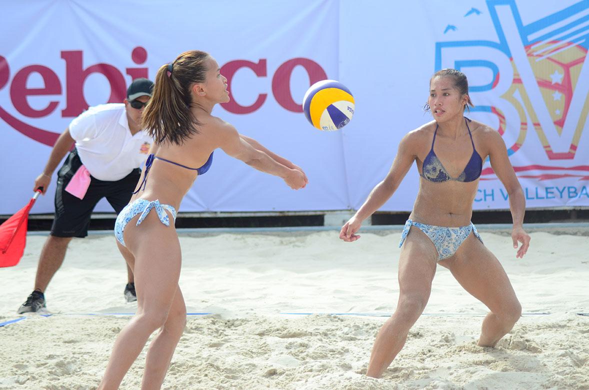 Tiebreaker Times Rondina's memorable 2019 a product of sheer hard work Beach Volleyball BVR News  Cherry Rondina Charo Soriano