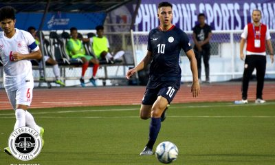 Tiebreaker Times As dream strike goes for naught, Justin Baas targets Azkals' redemption 2019 SEA Games Football News Philippine Azkals  Philippine Under-22 Men's National Football Justin Baas 2019 SEA Games - Football 2019 SEA Games