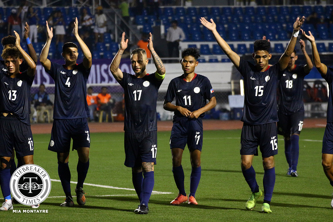 Tiebreaker Times Schrock not losing hope with Azkals' chances: 'We will get the next game' 2019 SEA Games Football News Philippine Azkals  Stephan Schrock Philippine Under-22 Men's National Football 2019 SEA Games - Football 2019 SEA Games