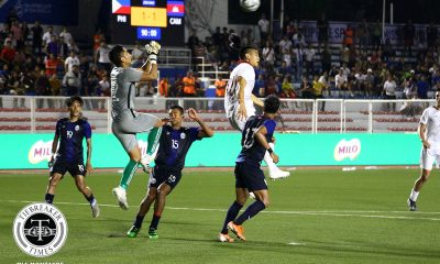 Tiebreaker Times Amani Aguinaldo looks to impart knowledge to Azkals U22 2019 SEA Games Football News Philippine Azkals  Amani Aguinaldo 2019 SEA Games - Football 2019 SEA Games