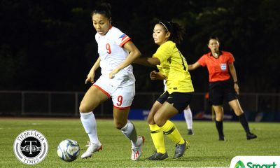 Tiebreaker Times PWNFT's 'greatest weapon' Bolden looks to make more history 2019 SEA Games Football News Philippine Malditas  sarah bolden Philippine Women's National Football Team 2019 SEA Games - Football 2019 SEA Games