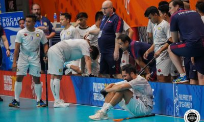Tiebreaker Times Philippine Men's Floorball denied SEA Games bronze by Malaysia 2019 SEA Games Floorball News  Ryan Hallden Ralph Ramos Philippine Men's National Floorball Team Philippine Floorball Association Fredrik Dahmen Christian Schoultze Aristeo Perol 2019 SEA Games - Floorball 2019 SEA Games