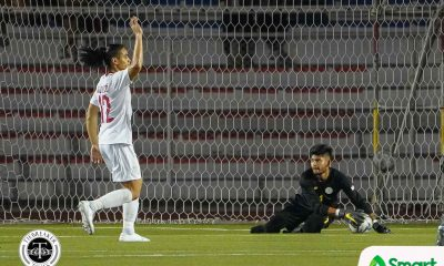 Tiebreaker Times Anthony Pinthus basks in first clean sheet 2019 SEA Games Football News Philippine Azkals  Philippine Under-22 Men's National Football Anthony Pinthus 2019 SEA Games - Football 2019 SEA Games