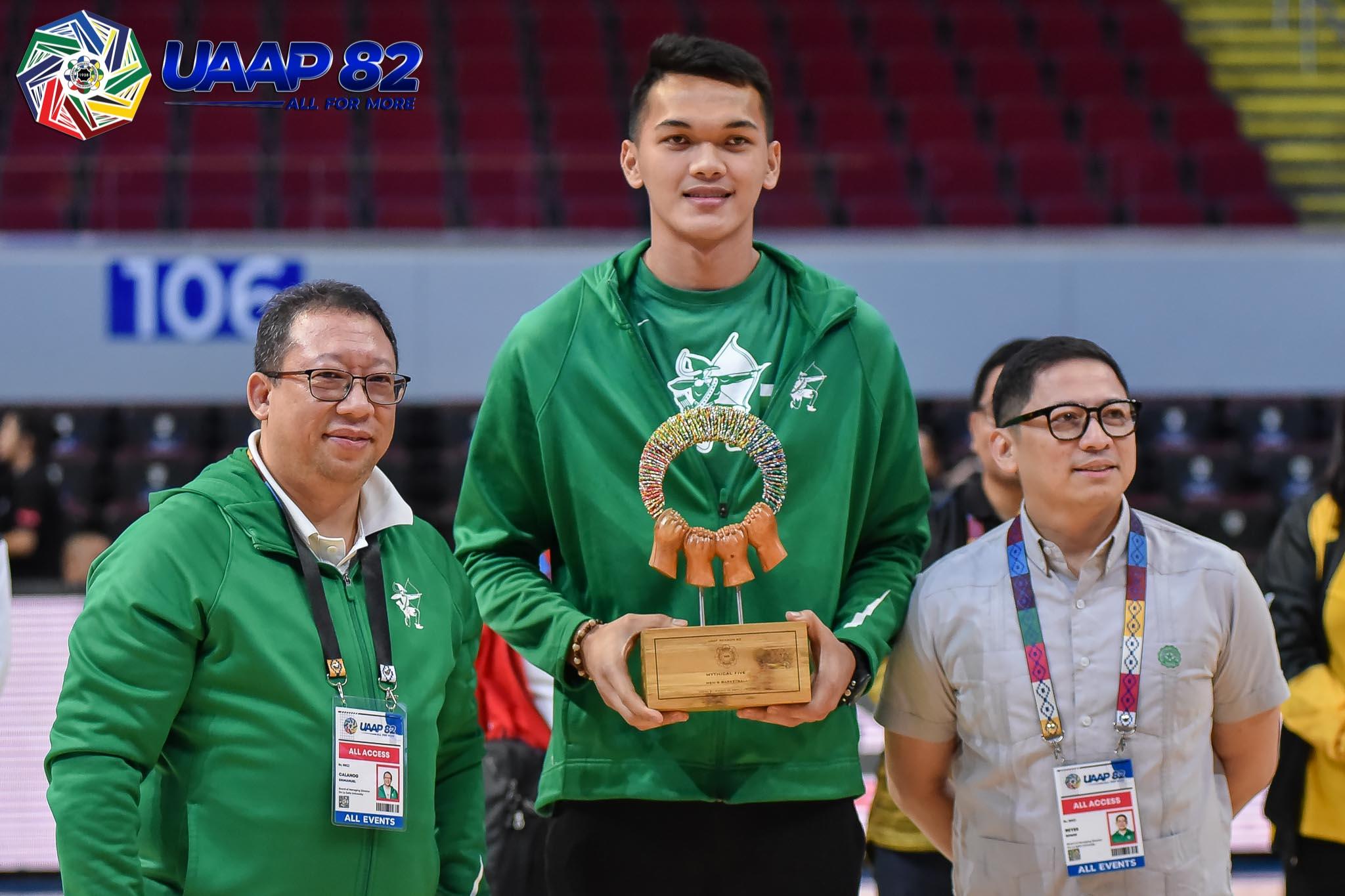 UAAP-82-Basketball-Awarding-Baltazar-3937 Napa explains why it took so long to get Baltazar to Gilas 2021 FIBA Asia Cup Basketball Gilas Pilipinas News NU  - philippine sports news