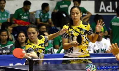 Tiebreaker Times UST Boys', Girls' clinch outright UAAP HS Table Tennis Finals berth ADMU AdU DLSU FEU News NU Table Tennis UAAP UE UP UST  UST Girls Table Tennis UST Boys Table Tennis UP Girls Table Tennis UP Boys Table Tennis UE Girls Table Tennis UE Boys Table Tennis UAAP Season 82 High School Table Tennis UAAP Season 82 NU Boys Table Tennis DLSZ Girls Table Tennis Ateneo Boys Table Tennis Adamson Girls Table Tennis Adamson Boys Table Tennis