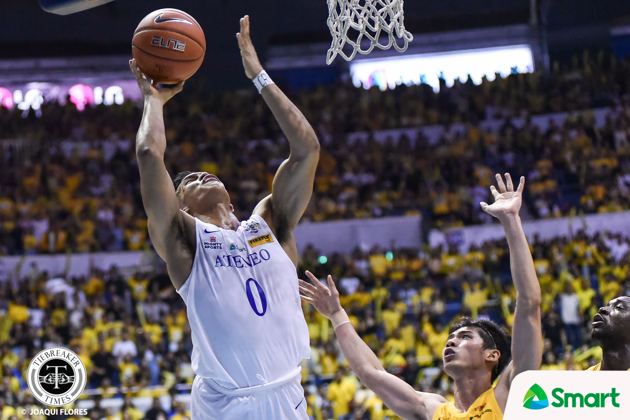 Tiebreaker Times Thirdy Ravena always makes sure to put on show in Finals ADMU Basketball News UAAP  UAAP Season 82 Men's Basketball UAAP Season 82 Thirdy Ravena Ateneo Men's Basketball
