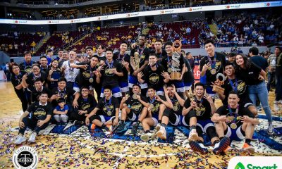 Tiebreaker Times Mike Nieto on Ateneo as 'greatest ever': 'We just have the record to show it' ADMU Basketball News UAAP  UAAP Season 82 Men's Basketball UAAP Season 82 Mike Nieto Ateneo Men's Basketball