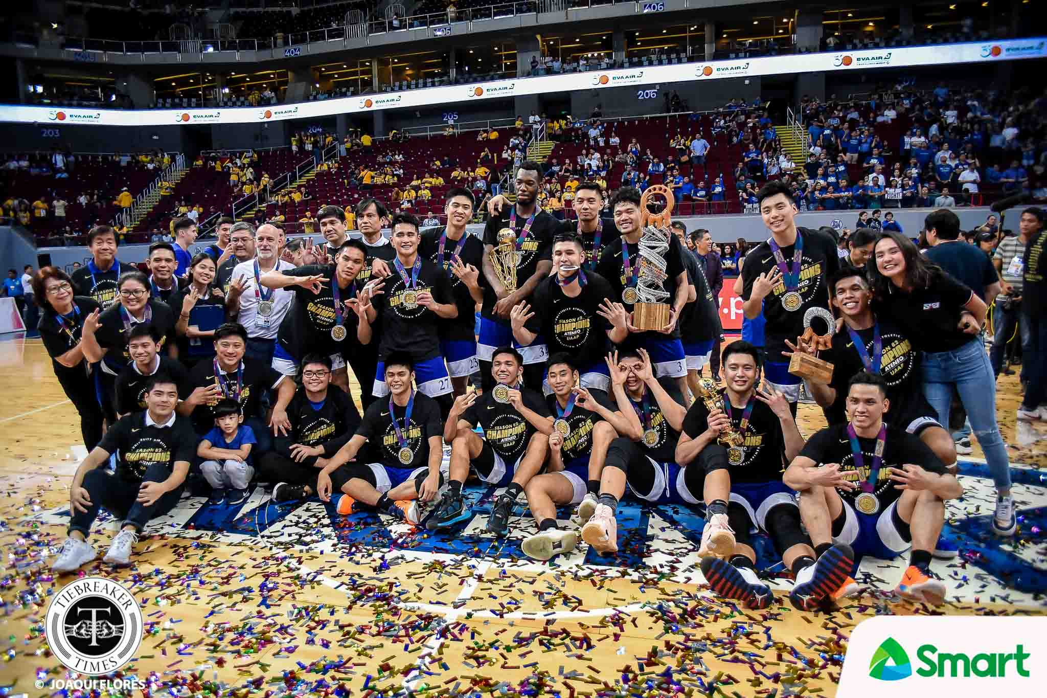 UAAP-82-MBB-Finals-G2-ADMU-vs.-UST-4743 I Love the 2010s: Best Teams of the Decade Basketball Football Gilas Pilipinas Mixed Martial Arts News ONE Championship PBA Philippine Azkals Softball Volleyball  - philippine sports news