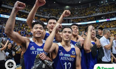 Tiebreaker Times Isaac Go, Nieto twins proud of Thirdy Ravena for fulfilling childhood dream Basketball Gilas Pilipinas News  Thirdy Ravena San-en NeoPhoenix Mike Nieto Matt Nieto Isaac Go Gilas Cadets 2020-21 B.League Season