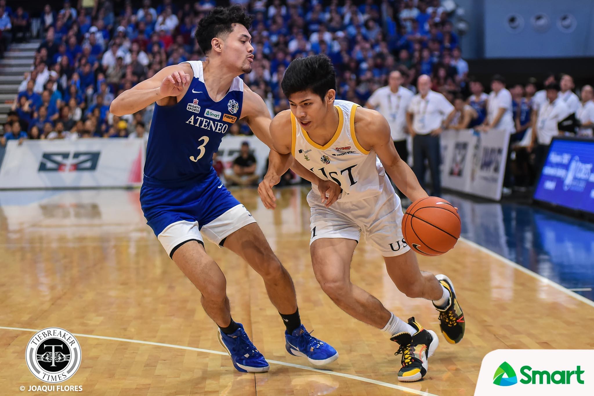 Tiebreaker Times UST, CJ Cansino part ways Basketball News UAAP UST  UST Men's Basketball UAAP Season 83 Men's Basketball UAAP Season 83 CJ Cansino