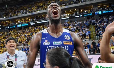 Tiebreaker Times Ange Kouame has decided: 'I'll go with the Philippines' 2023 FIBA World Cup ADMU Basketball Gilas Pilipinas News  Gilas Pilipinas Men Ateneo Men's Basketball Angelo Kouame 2023 FIBA World Cup