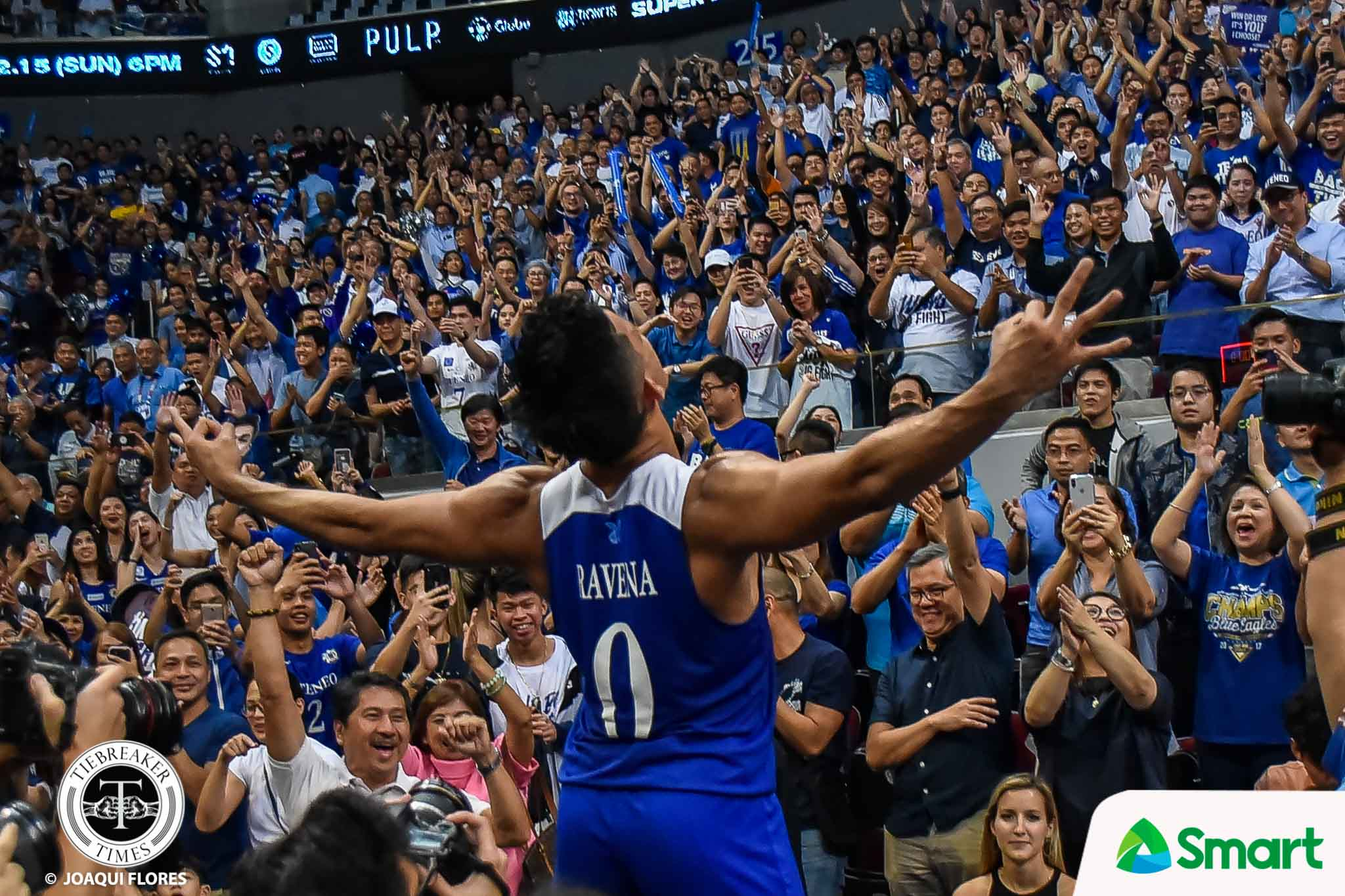 Tiebreaker Times After stepping out of Kiefer's shadow, Thirdy Ravena becomes history-maker ADMU Basketball News UAAP  UAAP Season 82 Men's Basketball UAAP Season 82 Thirdy Ravena Ateneo Men's Basketball