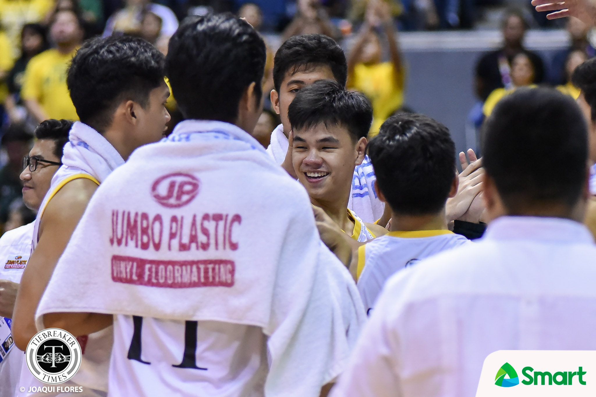 Tiebreaker Times Brent Paraiso provides spark for UST: 'We wanted it more' Basketball News UAAP UST  UST Men's Basketball UAAP Season 82 Men's Basketball UAAP Season 82 Brent Paraiso Aldin Ayo