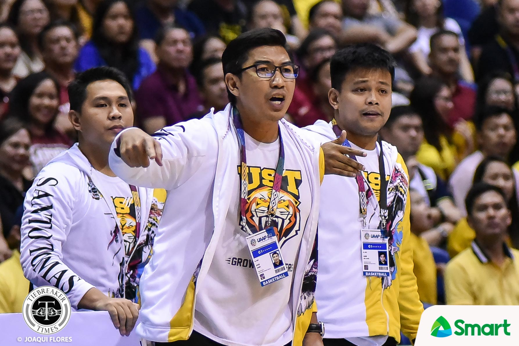 Tiebreaker Times Aldin Ayo's wife says once Bicol bubble investigation ends, they will talk Basketball News UAAP UST  UST Men's Basketball UAAP Season 83 Men's Basketball UAAP Season 83 Coronavirus Pandemic Aldin Ayo