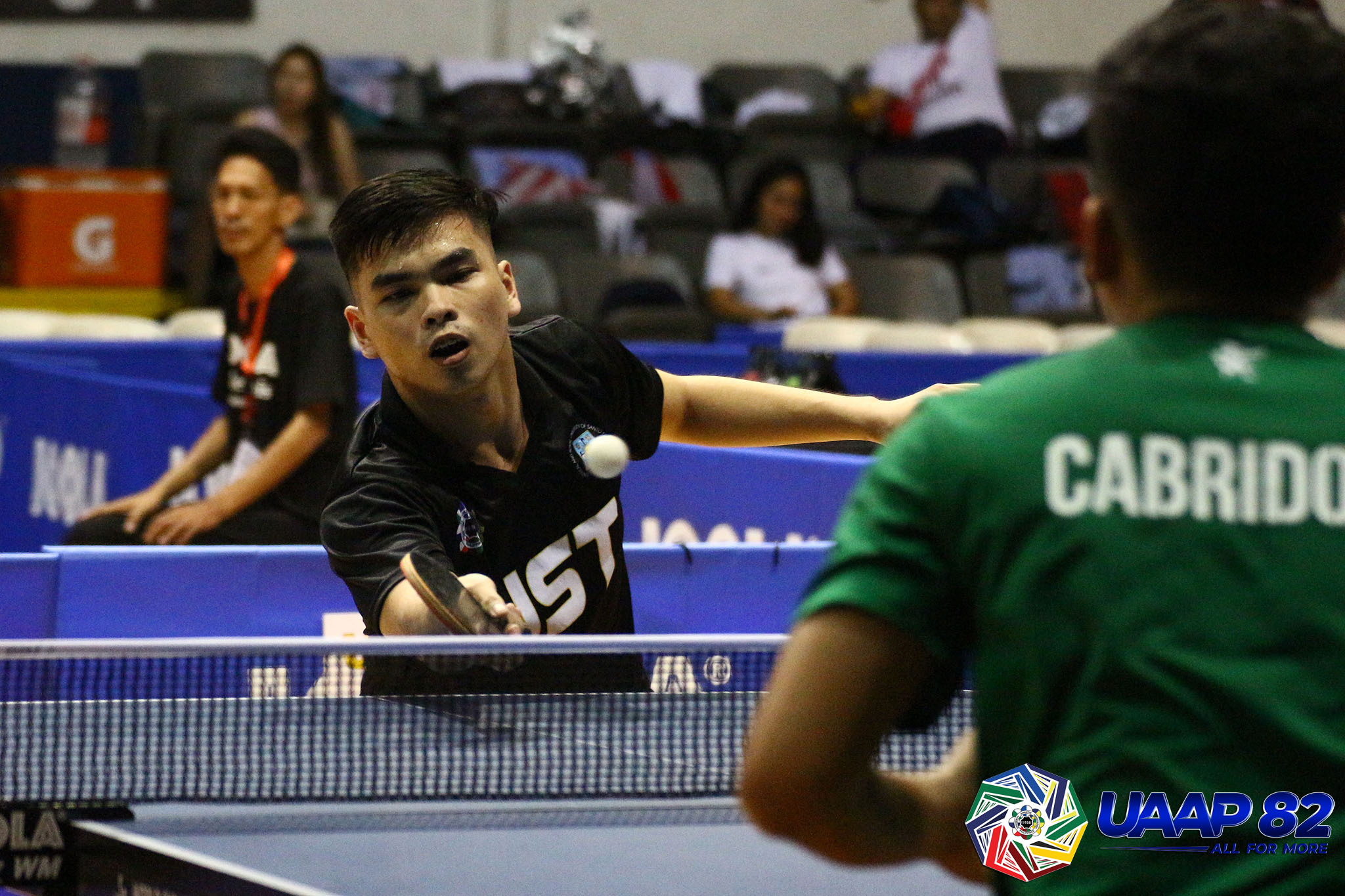 UST cruises to eighth straight win in UAAP Men's Table Tennis - Tiebreaker Times
