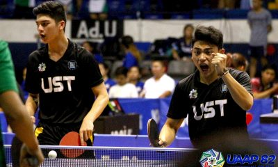 Tiebreaker Times UST Tiger Paddlers complete elims sweep of UAAP Men's Table Tennis ADMU AdU DLSU FEU News NU Table Tennis UAAP UE UP UST  UST Men's Table Tennis UP Men's Table Tennis UE Men's Table Tennis UAAP Season 82 Men's Table Tennis UAAP Season 82 Paul Que NU Men's Table Tennis FEU Men's Table Tennis DLSU Men's Table Tennis Ateneo Men's Table Tennis Adamson Men's Table Tennis