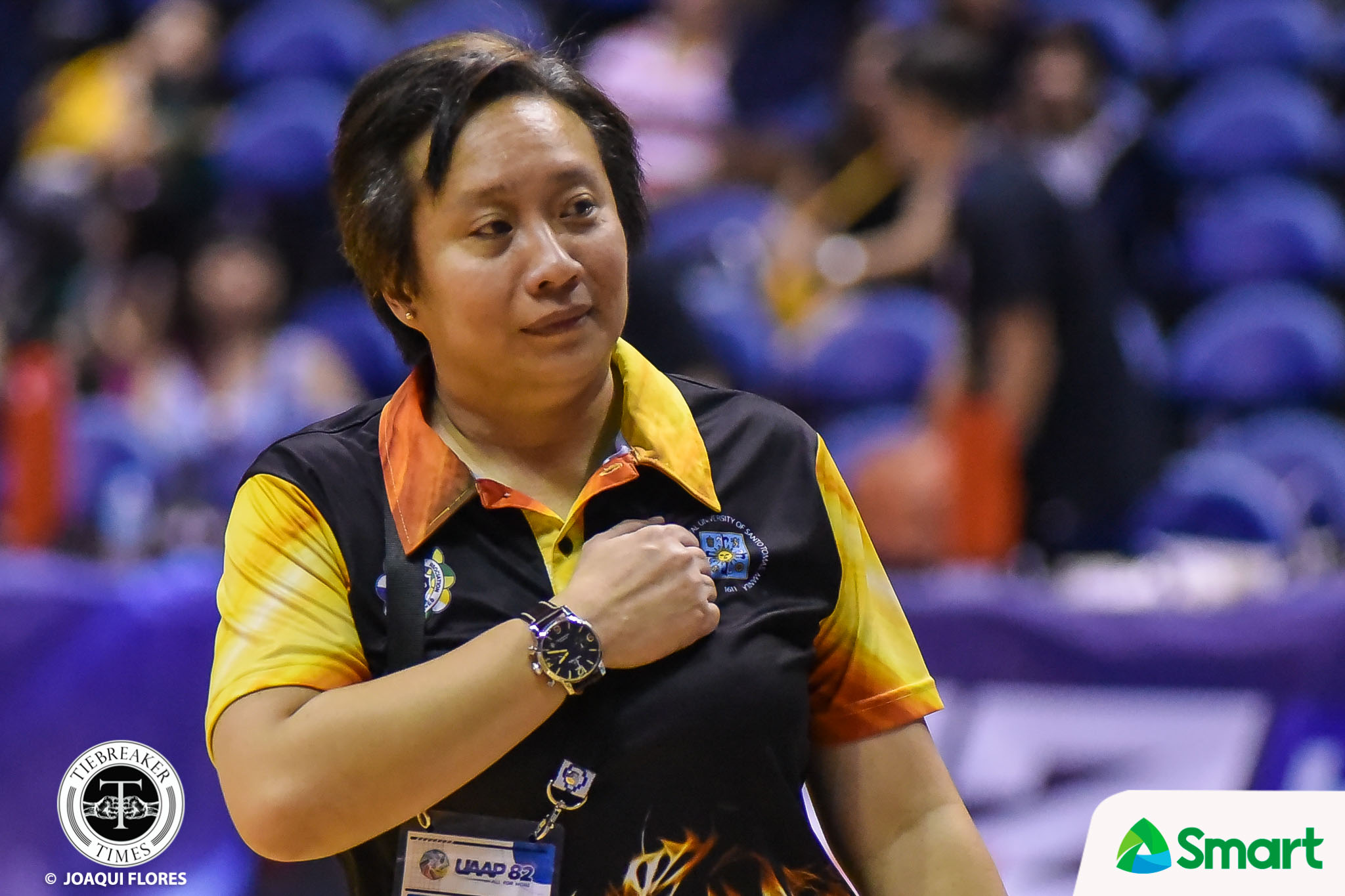 Tiebreaker Times Haydee Ong looks back on three-year odyssey with UST Basketball News UAAP UST  UST Women's Basketball UAAP Season 82 Women's Basketball UAAP Season 82 Haydee Ong
