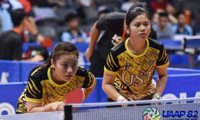 Tiebreaker Times UST Girls' Table Tennis team complete first round sweep, UST Boys' near feat ADMU AdU DLSU FEU News NU Table Tennis UAAP UE UP UST  UST Girls Table Tennis UST Boys Table Tennis UP Girls Table Tennis UP Boys Table Tennis UE Girls Table Tennis UE Boys Table Tennis UAAP Season 82 High School Table Tennis UAAP Season 82 Tristan Jane Dela Cruz Reshma Bagonon NU Boys Table Tennis Henze Lucero DLSZ Girls Table Tennis Ateneo Boys Table Tennis Adamson Girls Table Tennis Adamson Boys Table Tennis