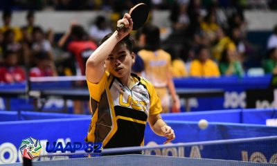 Tiebreaker Times UST, NU keep share of lead in UAAP Men's Table Tennis ADMU AdU DLSU FEU News NU Table Tennis UAAP UE UP UST  UST Men's Table Tennis UP Men's Table Tennis UE Men's Table Tennis UAAP Season 82 Men's Table Tennis UAAP Season 82 Odree Maldia NU Men's Table Tennis Mcleen Dizon John Michael Castro Francis Bendebel FEU Men's Table Tennis DLSU Men's Table Tennis Ateneo Men's Table Tennis Adamson Men's Table Tennis