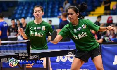 Tiebreaker Times La Salle Lady Paddlers stay perfect as Ateneo stuns defending champ UST ADMU AdU DLSU FEU News NU Table Tennis UAAP UE UP UST  UST Women's Table Tennis UP Women's Table Tennis UE Women's Table Tennis UAAP Season 82 Women's Table Tennis UAAP Season 82 Rein Teodoro NU Women's Table Tennis Kimberly Sorongon Jasmine Tan FEU Women's Table Tennis DLSU Women's Table Tennis Crystal Canoos Ateneo Women's Table Tennis Ana Calvo Adamson Women's Table Tennis