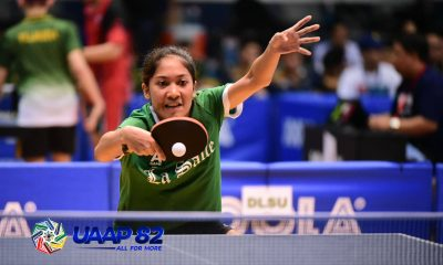 Tiebreaker Times La Salle inches closer to first round sweep ADMU AdU DLSU FEU News NU Table Tennis UAAP UE UP UST  UST Women's Table Tennis UP Women's Table Tennis UE Women's Table Tennis UAAP Season 82 Women's Table Tennis UAAP Season 82 Rein Teodoro NU Women's Table Tennis Kimberly Sorongon FEU Women's Table Tennis DLSU Women's Table Tennis Ateneo Women's Table Tennis Adamson Women's Table Tennis