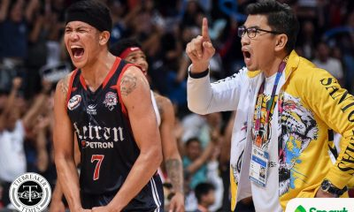 Tiebreaker Times Like rest of 2015 Knights, Ayo wants two-time champ Balanza to finish degree Basketball CSJL NCAA News UAAP UST  UST Men's Basketball UAAP Season 82 Men's Basketball UAAP Season 82 NCAA Season 95 Seniors Basketball NCAA Season 95 Letran Seniors Basketball Jerrick Balanza Aldin Ayo