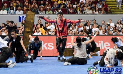 Tiebreaker Times San Gregorio expected a 'different dance score' for FEU Cheering Squad News  UAAP Season 82 Cheerdance Competition UAAP Season 82 Randell San Gregorio FEU Cheering Squad