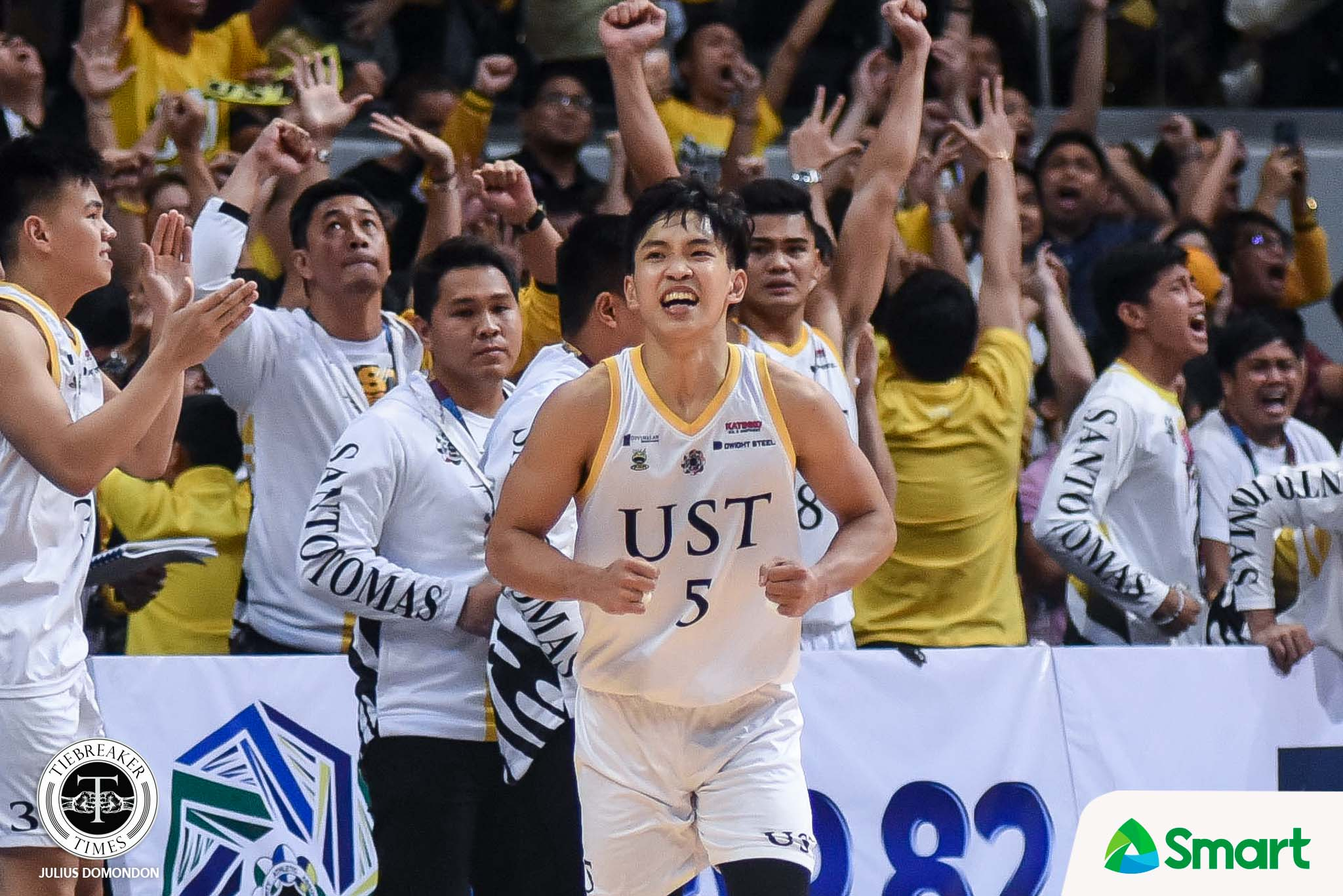 Tiebreaker Times Renzo Subido's personal sacrifice ended up worth it for UST Basketball News UAAP UST  UST Men's Basketball UAAP Season 82 Men's Basketball UAAP Season 82 Renzo Subido