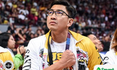 Tiebreaker Times Aldin Ayo tells UST not to celebrate Finals berth: 'Hindi pa tapos' Basketball News UAAP UST  UST Men's Basketball UAAP Season 82 Men's Basketball UAAP Season 82 Aldin Ayo