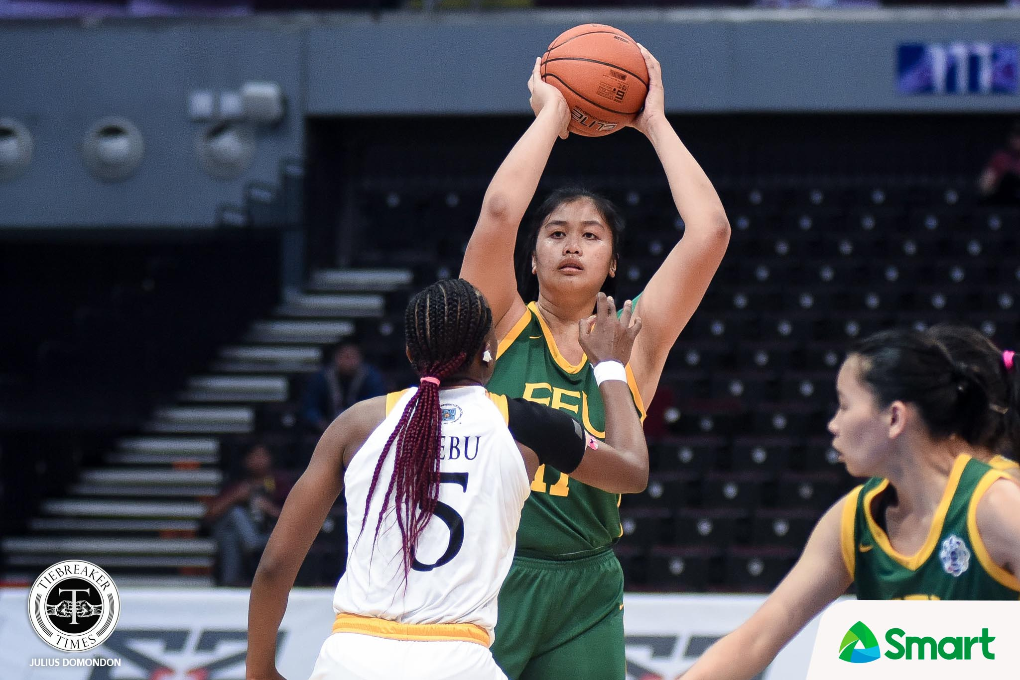 UAAP82-WBB-12TH-PHOTO-FEU-CLARE-CASTRO Animam, Bernardino, Castro, Guytingco continue call for pro women's league Basketball News  - philippine sports news