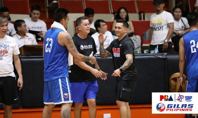 Tiebreaker Times Jimmy Alapag hopes Gilas win will not get into Alab's head ABL Alab Pilipinas Basketball News  Jimmy Alapag Gilas Tune-up 2019-20 ABL Season