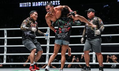 Tiebreaker Times Robin Catalan, CFS reach out to neighbors in Makati Mixed Martial Arts News ONE Championship  Robin Catalan Catalan Fighting System