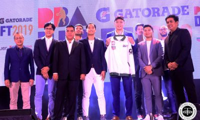 Tiebreaker Times Isaac Go goes to Columbian in PBA Draft's special Gilas portion Basketball Gilas Pilipinas News PBA  Rey Suerte Rain or Shine Elasto Painters PBA Season 45 Northport Batang Pier NLEX Road Warriors Mike Nieto Matt Nieto Isaac Go Gilas Pilipinas Men Columbian Dyip Allyn Bulanadi Alaska Aces 2019 PBA Draft