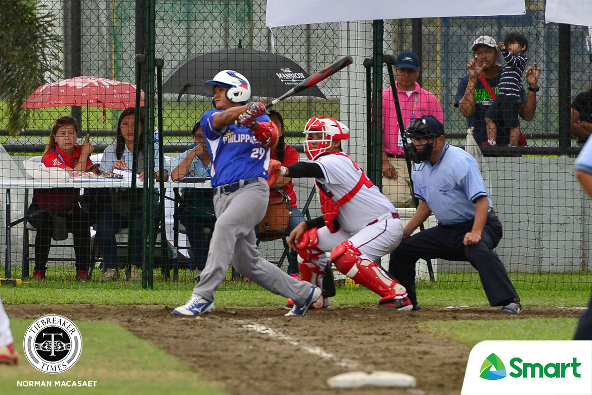 Tiebreaker Times RP Blu Boys advance to SEAG softball finals 2019 SEA Games News Softball  RP Blu Boys Michael Pagkaliwagan Leo Barredo Jerome Bacarisas Jasper Cabrera Indonesia (Softball) Gino Riparip Gerone Riparip Apol Rosales 2019 SEA Games - Softball