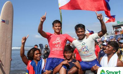 Tiebreaker Times Hero Roger Casugay gets rewarded with SEAG gold 2019 SEA Games News Surfing  Roger Casugay Nilbie Blancada 2019 SEA Games - Surfing 2019 SEA Games