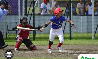 Tiebreaker Times RP Blu Girls, Blu Boys dominate in SEA Games openers 2019 SEA Games News Softball  Singapore (Softball) RP Blu Girls RP Blu Boys Royevel Palma Rey Aliling Randy Dizer Ofring Dela Cruz MJ Maguad Michael Pagkalinawan Malaysia (Softball) Lyca Basa Jerome Bacarisas Apol Rosales Angelu Gabrial Angelie Ursabia 2019 SEA Games - Softball 2019 SEA Games