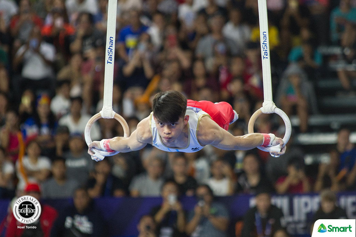 Tiebreaker Times Caloy Yulo makes history anew, wins PH's first-ever SEAG Gymnastics gold 2019 SEA Games Gymnastics News  Caloy Yulo 2019 SEA Games - Gymnastics 2019 SEA Games
