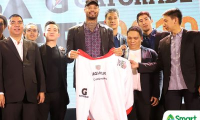 Tiebreaker Times Nash Racela hopes gamble on 34-year-old Shaw pays off Basketball News PBA  PBA Season 45 Nash Racela Maurice Shaw Blackwater Elite 2019 PBA Draft