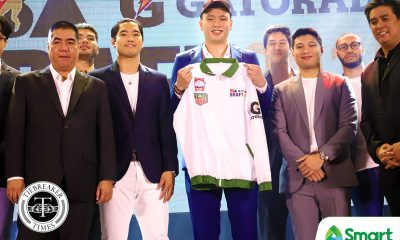 Tiebreaker Times Columbian sees Isaac Go as future Dyip leader Basketball News PBA  PBA Season 45 Johnedel Cardel Isaac Go Columbian Dyip 2019 PBA Draft