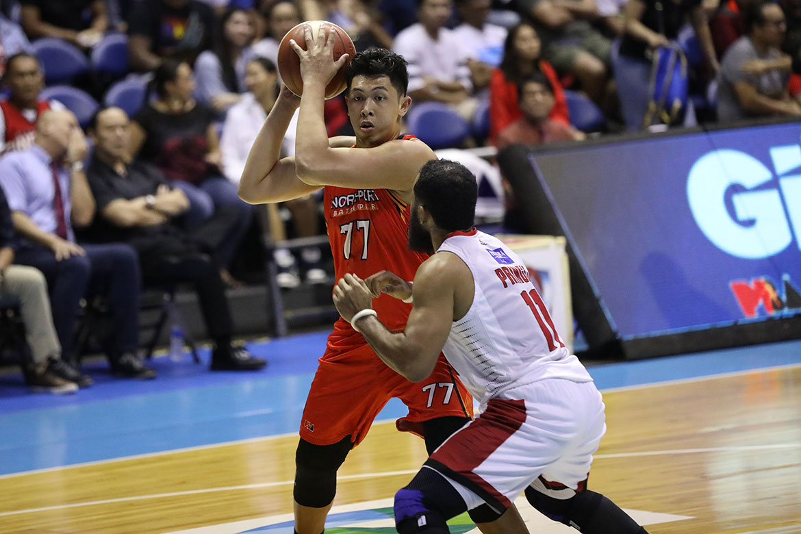 Tiebreaker Times Freak accident causes Kevin Ferrer to miss semis Game Three Basketball News PBA  PBA Season 44 Northport Batang Pier Kevin Ferrer 2019 PBA Governors Cup