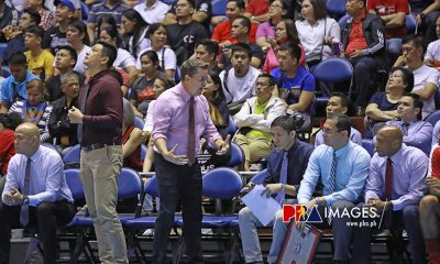 Tiebreaker Times Cone on 34-point Ginebra loss: 'One of the worst first games I have been involved with' Basketball News PBA  Tim Cone PBA Season 44 Barangay Ginebra San Miguel 2019 PBA Governors Cup