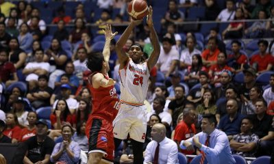 Tiebreaker Times Michael Qualls vows to bounce back in Game 3: 'Just got to be a leader' Basketball News PBA  PBA Season 44 Northport Batang Pier Michael Qualls 2019 PBA Governors Cup