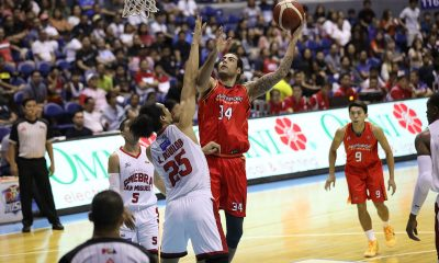 Tiebreaker Times On the brink, Christian Standhardinger calls on NorthPort to still go all-out in semis Basketball News PBA  PBA Season 44 Northport Batang Pier Christian Standhardinger 2019 PBA Governors Cup