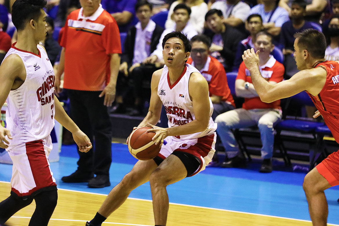 Tiebreaker Times Tim Cone hopes Jeff Chan continues heater run: 'It makes the game easier' Basketball News PBA  Tim Cone PBA Season 44 Jeff Chan Barangay Ginebra San Miguel 2019 PBA Governors Cup