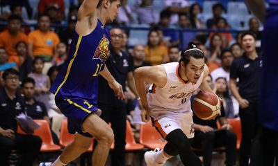 Tiebreaker Times Quinto responds to Black's challenge: 'Champion Letran so dapat mag-champion kami ngayon' Basketball News PBA  PBA Season 44 Norman Black Meralco Bolts Bong Quinto 2019 PBA Governors Cup