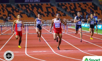 Tiebreaker Times Eric Cray completes SEAG 400m hurdles four-peat 2019 SEA Games News Track & Field  Eric Cray 2019 SEA Games - Athletics 2019 SEA Games