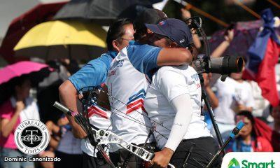 Tiebreaker Times For Love and Country: Mr and Mrs Dela Cruz end PH's SEAG archery drought 2019 SEA Games Archery News  Rachelle Dela Cruz Paul Marton Dela Cruz 2019 SEA Games - Archery 2019 SEA Games